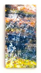 Beauty Without, 12in x 24in x 1.5in, Copyright Linda Neel